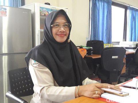 Ketua Panitia Bidang Kesehatan PPIH Asrama Haji Embarkasi Bekasi, Yani Dwiyuli.