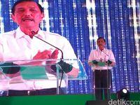 Menteri Koordinator Bidang Kemaritiman, Luhut Binsar Pandjaitan (Budi/detikcom)