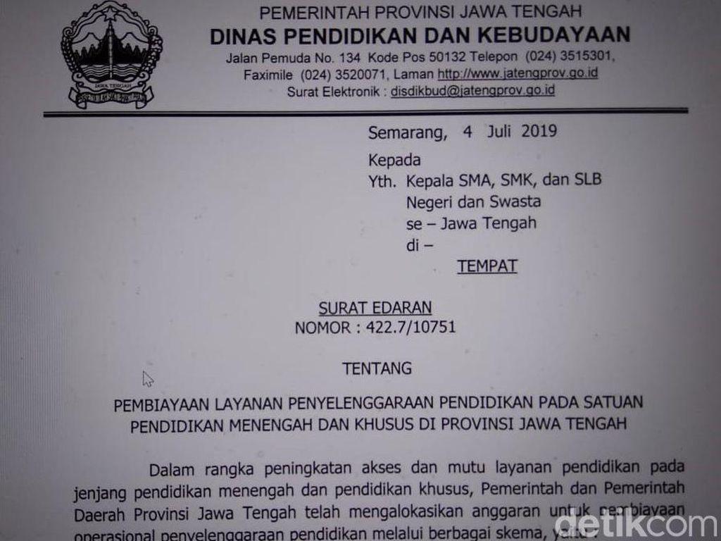 Meski Dilarang, SMA di Brebes Ada yang Pungut Sumbangan