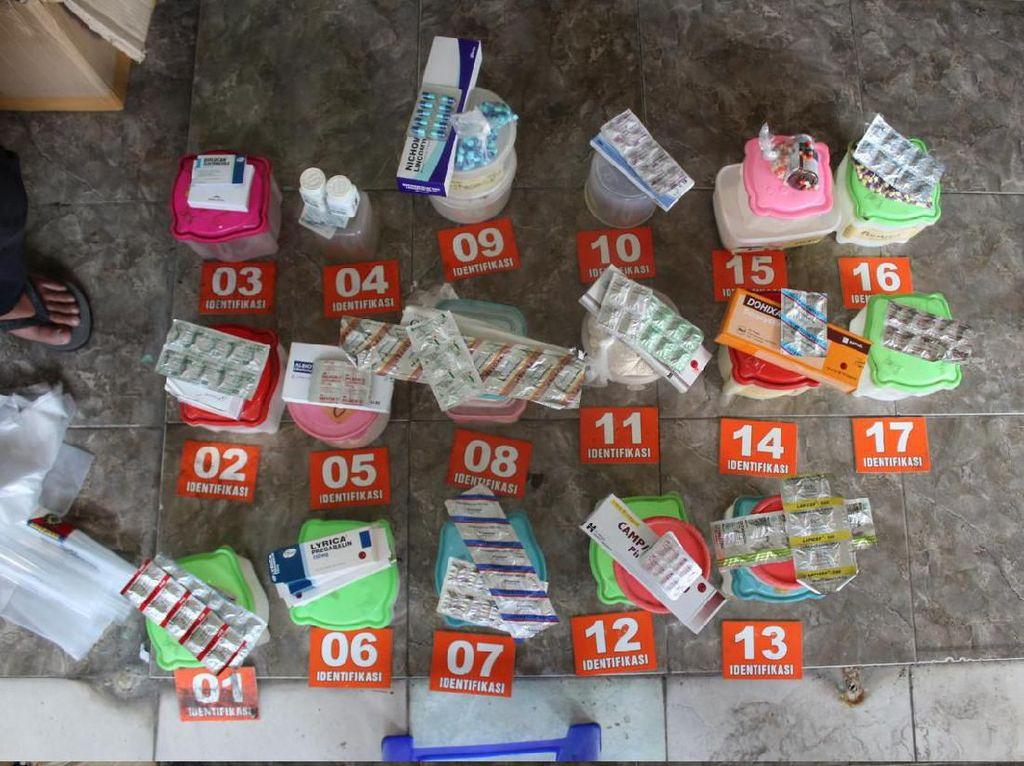 Bareskrim Ungkap Praktik Pabrik Obat Paten Palsu di Semarang
