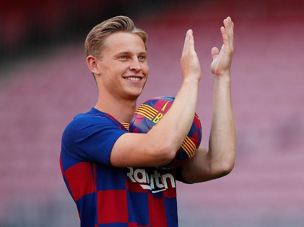 Nomor 21 Dikasih ke De Jong, Gelandang Barcelona Ini Kecewa