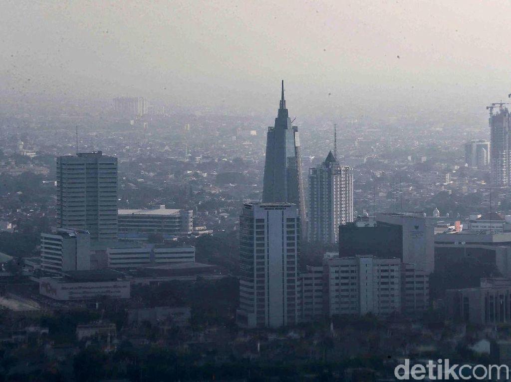 AirVisual: Akhir Pekan, Udara Jakarta Kembali Jadi Terburuk di Dunia
