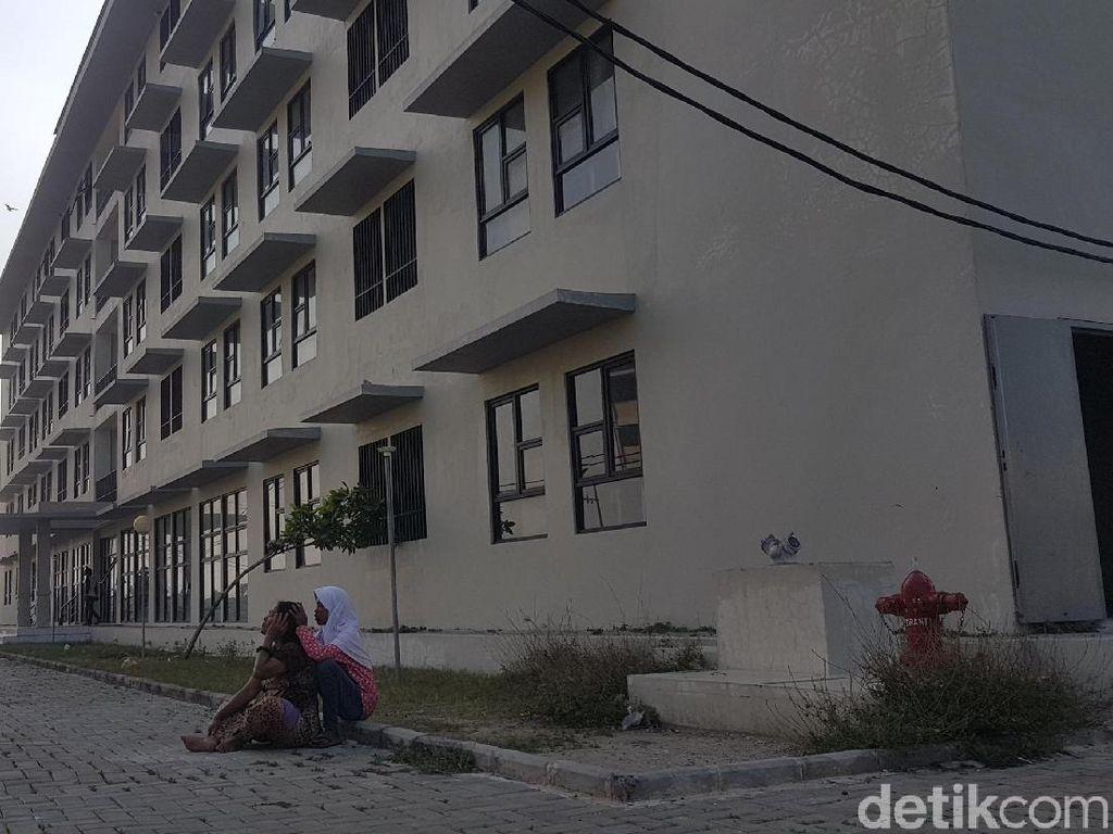 Belum Dihuni, Rusunawa Kota Serang Terbengkalai dan Rusak