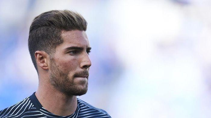 Luca Zidane senang bisa tinggalkan Madrid dan cari tantangan baru (Juan Manuel Serrano Arce/Getty Images)