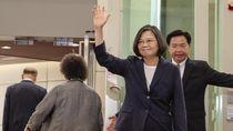 Perkelahian Pecah Saat Kunjungan Presiden Taiwan ke New York