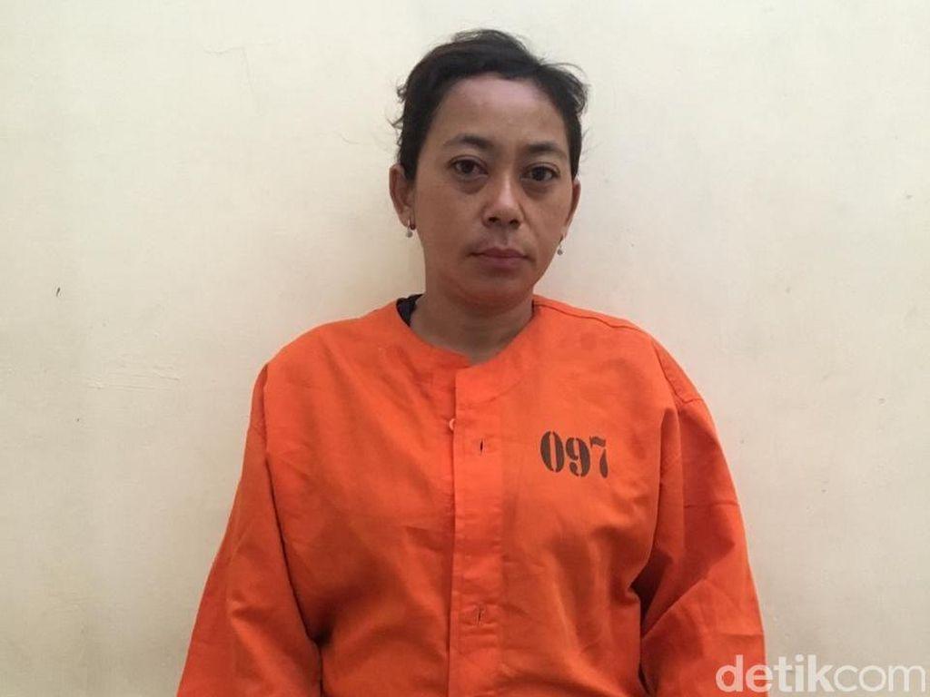 Emak-emak Pencopet Pengunjung Sidang di Pengadilan Bali Ditahan Polisi