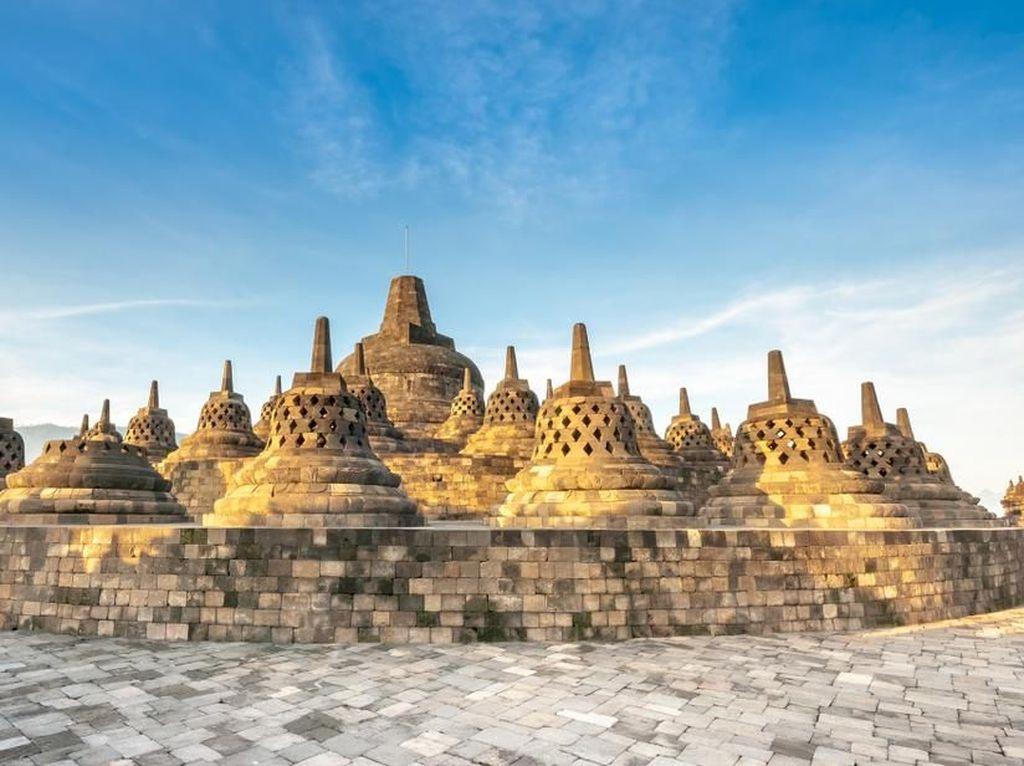 World Heritage Day, Candi Borobudur Datangi Pelancong Lewat Daring