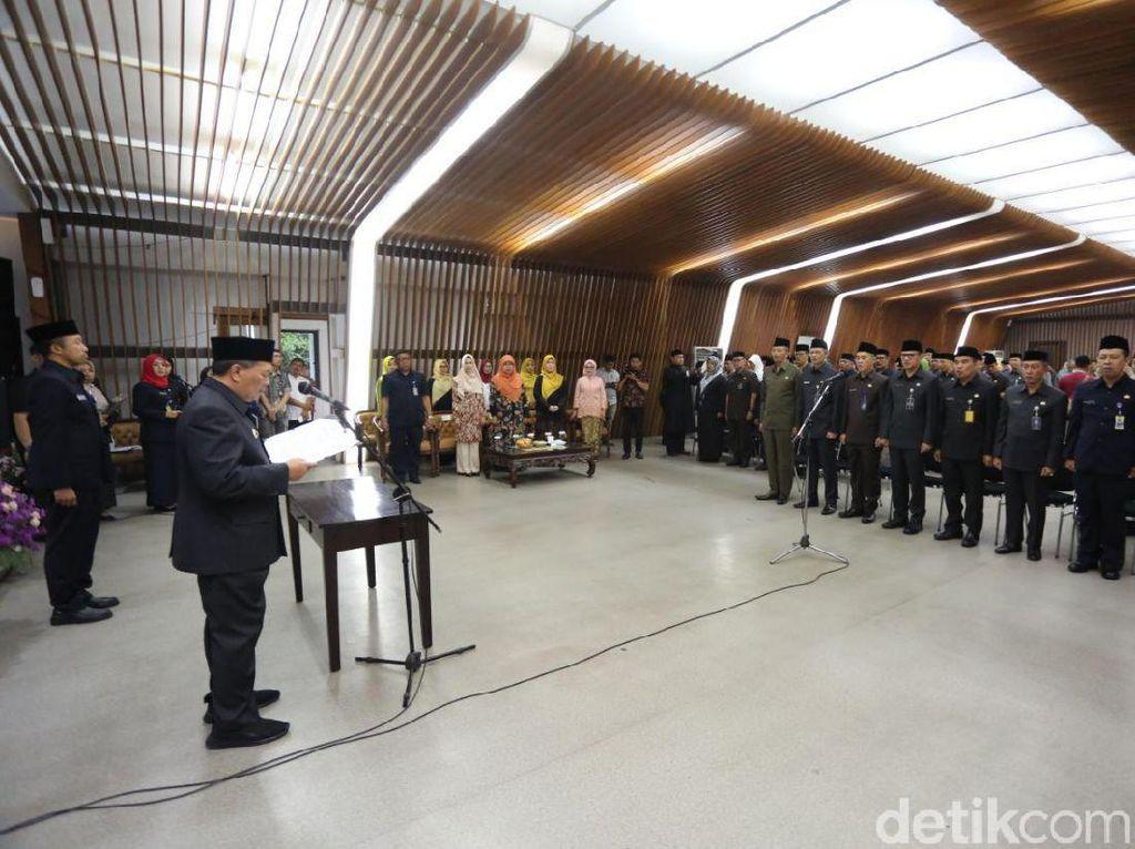 Oded Lantik 7 Kepala Dinas Baru Kota Bandung