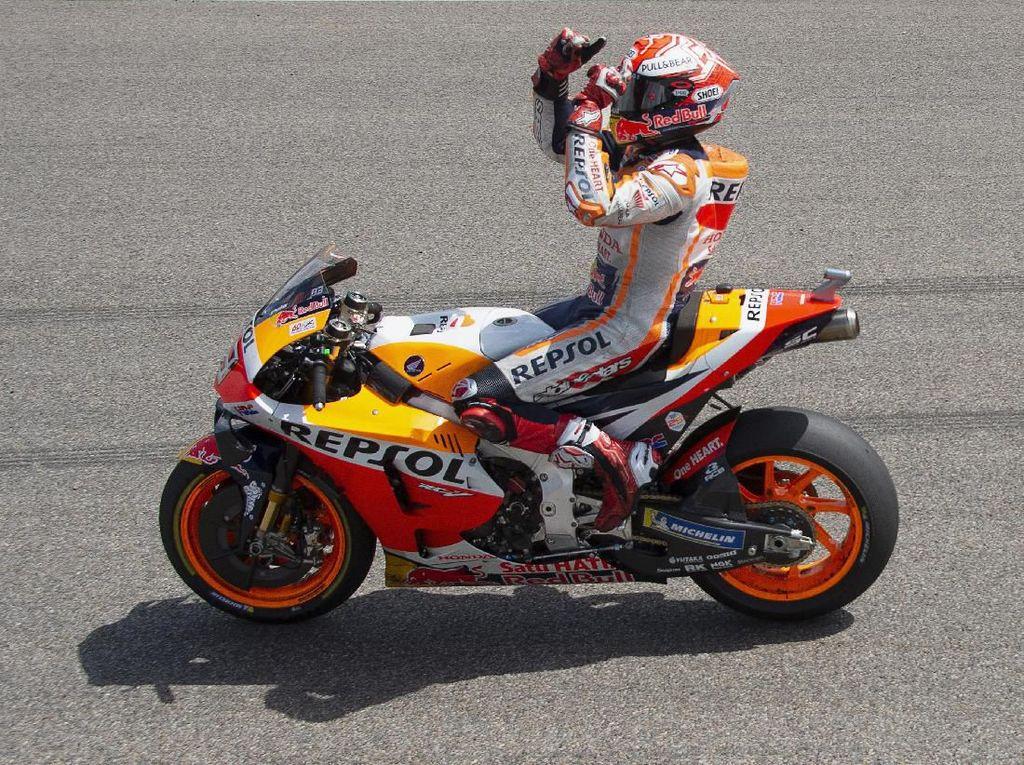 Marquez Akan Lupakan Keunggulan Poinnya di Brno