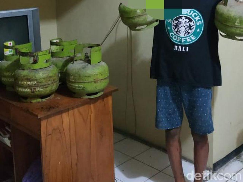 Dua Pelajar di Ngawi Curi 8 Tabung Elpiji 3 Kg