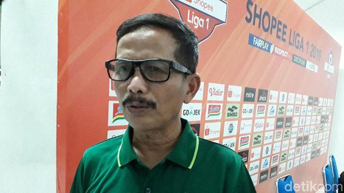 Pelatih Persebaya Surabaya, Djajang Nurjaman. (Foto: Ristu Hanafi/detikcom)