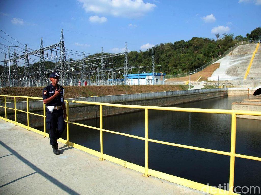 PLTA Rajamandala 47 MW di Cianjur Resmi Beroperasi