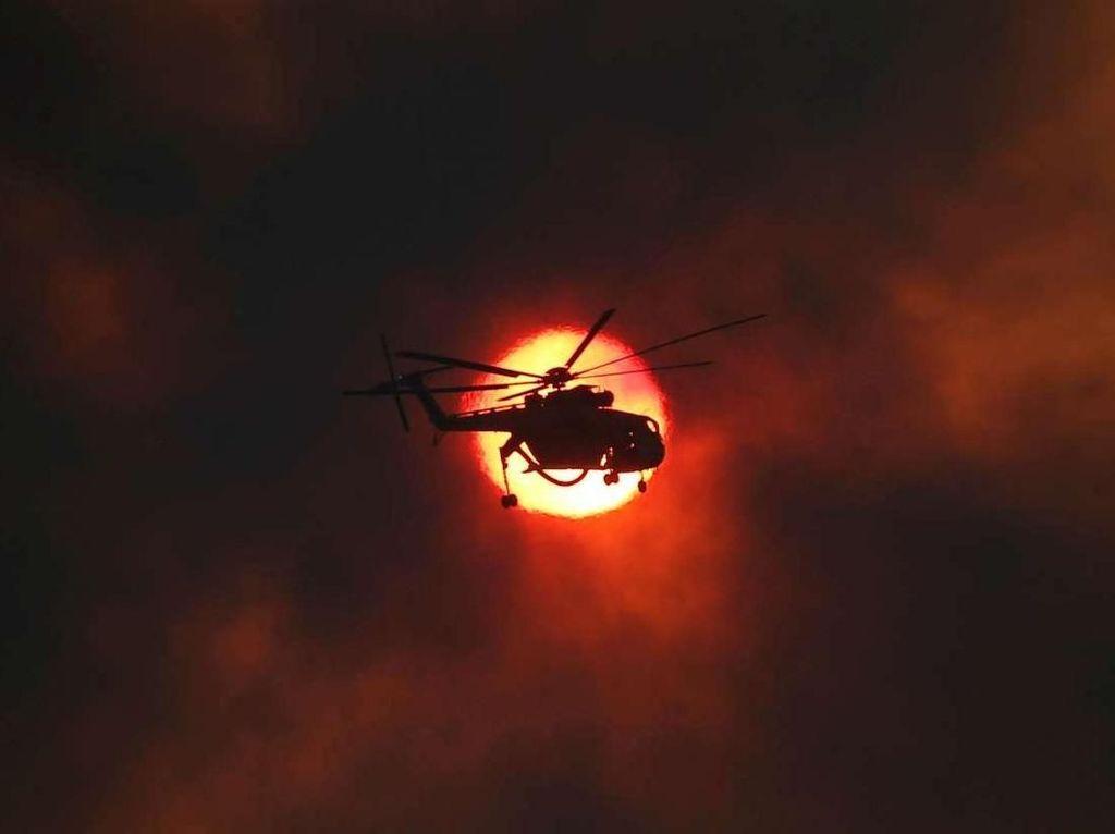 Melihat Keberanian Para Pemburu Api