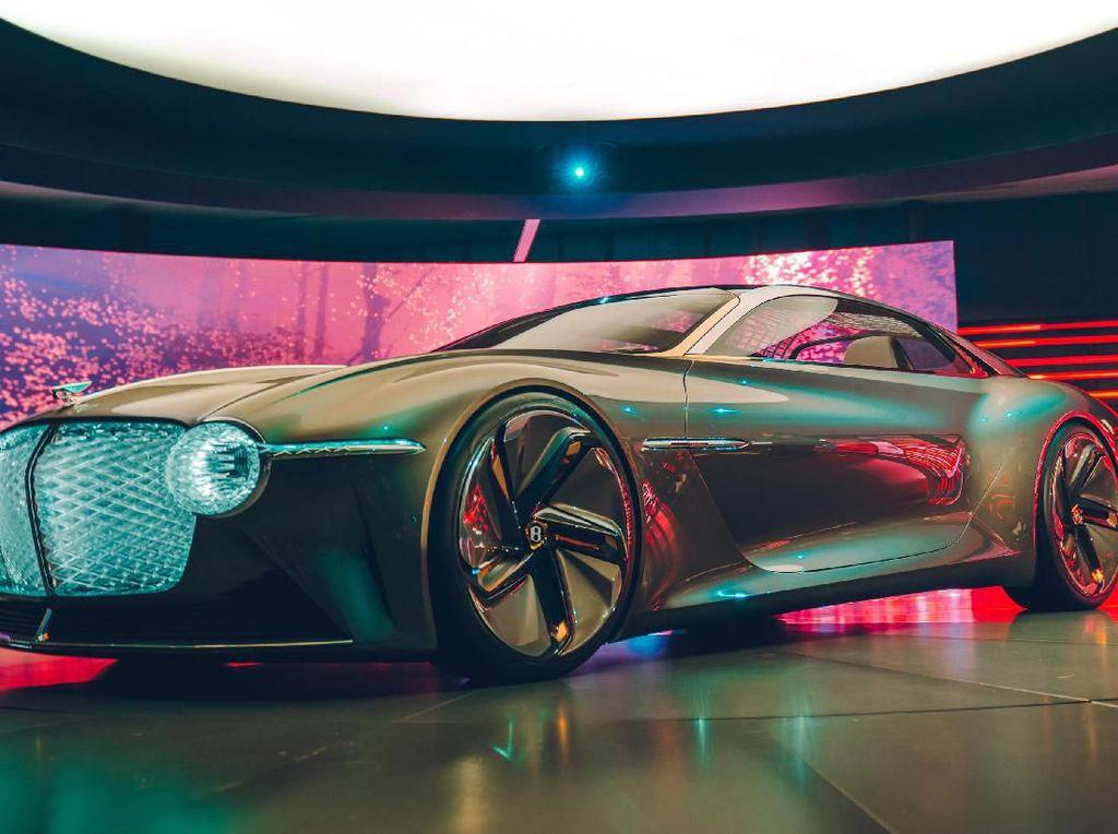 Begini Penampakan Bentley Masa Depan