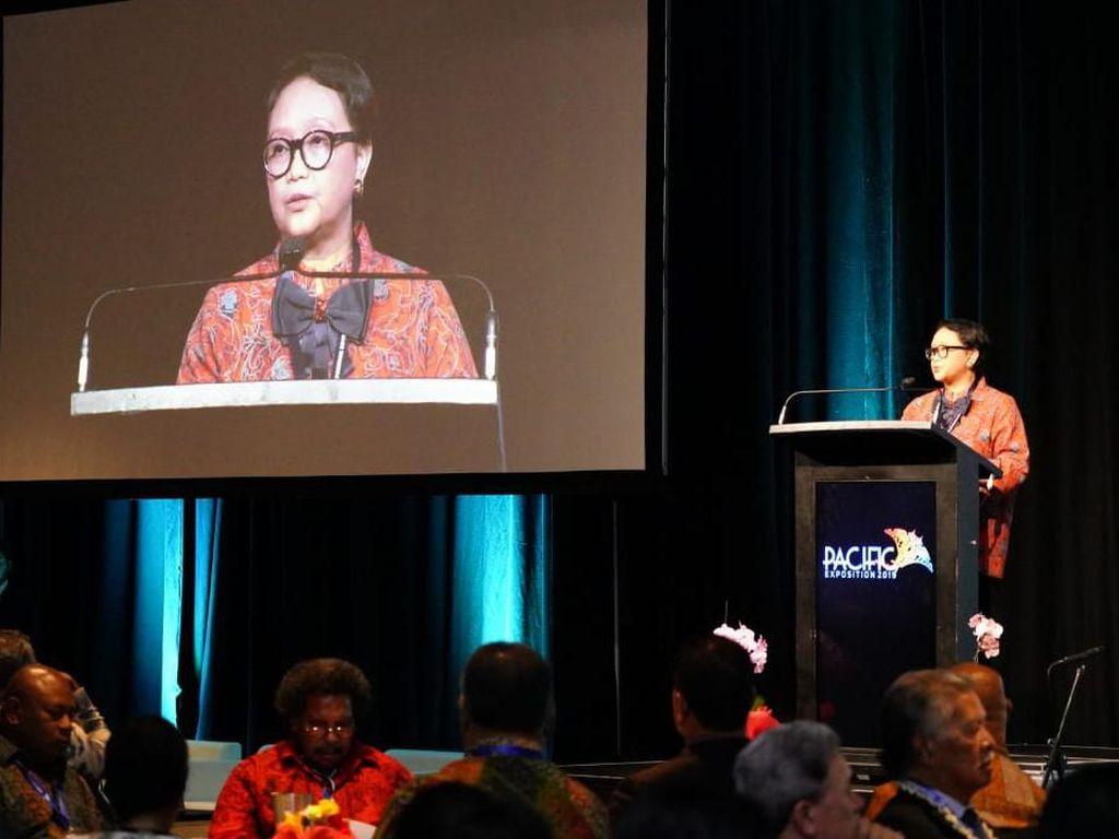 Buka Pacific Exposition 2019, Menlu Bicara Ancaman Negara Pasifik