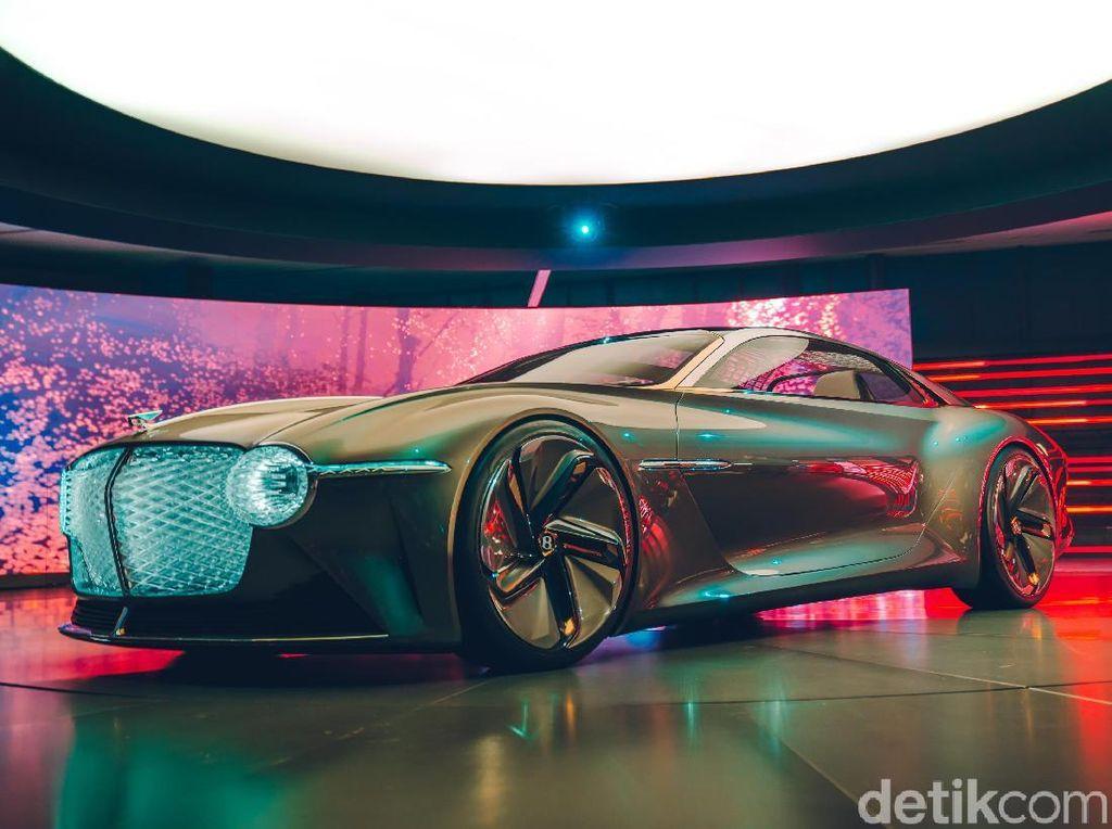 Mobil Bentley untuk Orang Tajir di Masa Depan, Bentuknya Seperti Ini