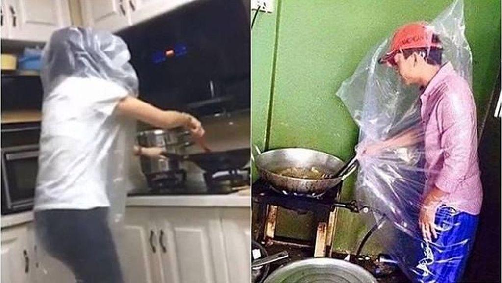 Ngakak! Begini Jadinya Kalau Para Suami Beraksi Saat Masak di Dapur