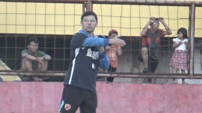 PSM Makassar belum mau pikirkan Persija Jakarta di final Piala Indonesia. (Foto: Reinhard Soplantila)