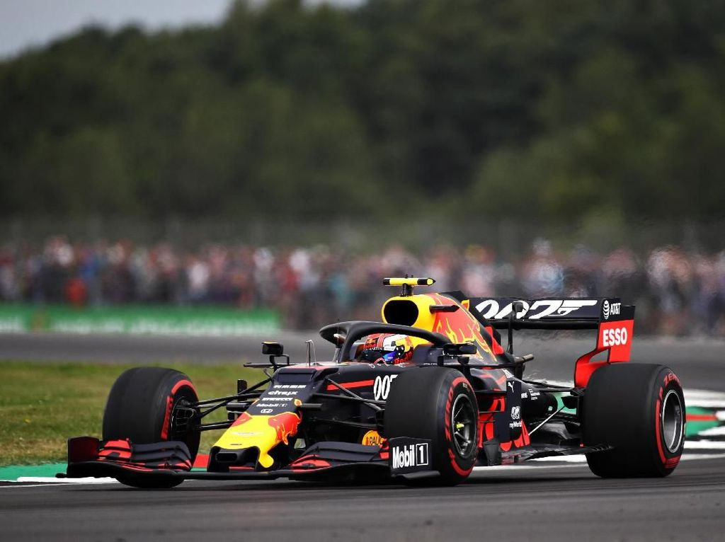 Pierre Gasly Tercepat di FP1 GP Inggris