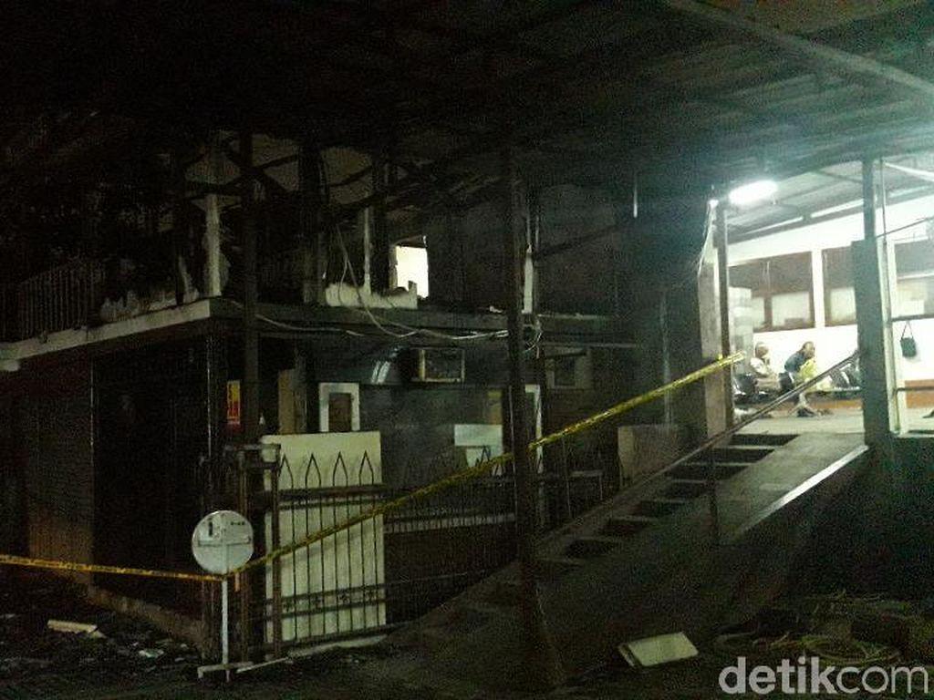 Kebakaran di Mes Karyawan Gereja Santo Matias Padam, Tak Ada Korban Jiwa