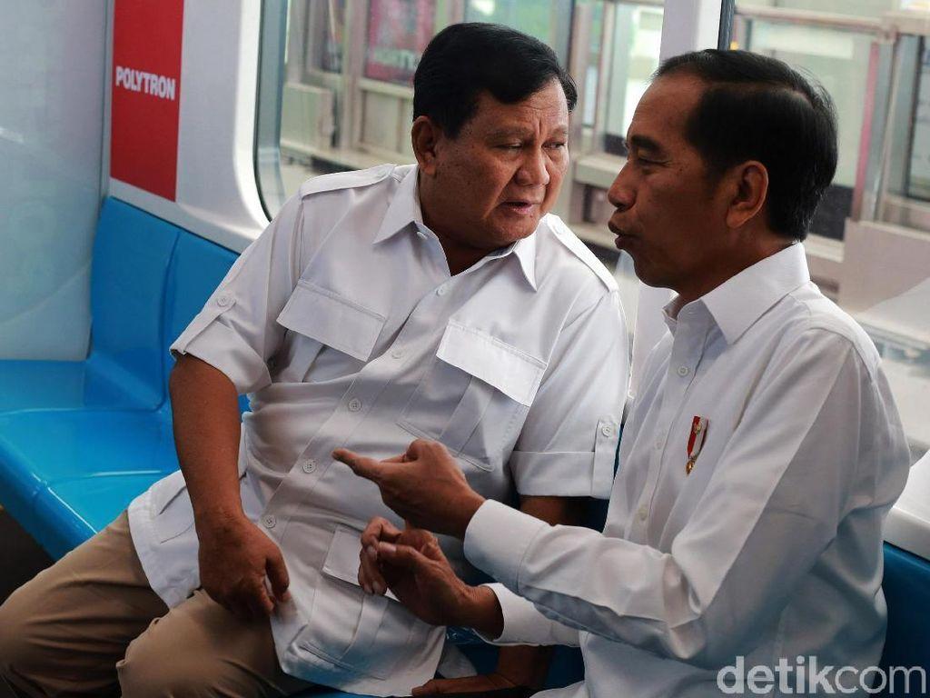 Pesan Poyuono untuk yang Kecewa Prabowo-Jokowi Bertemu: Tersenyumlah!