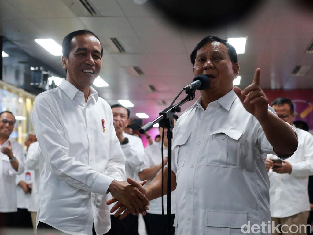 Jokowi Bertemu Prabowo, Imbas ke Penguatan Rupiah Temporer