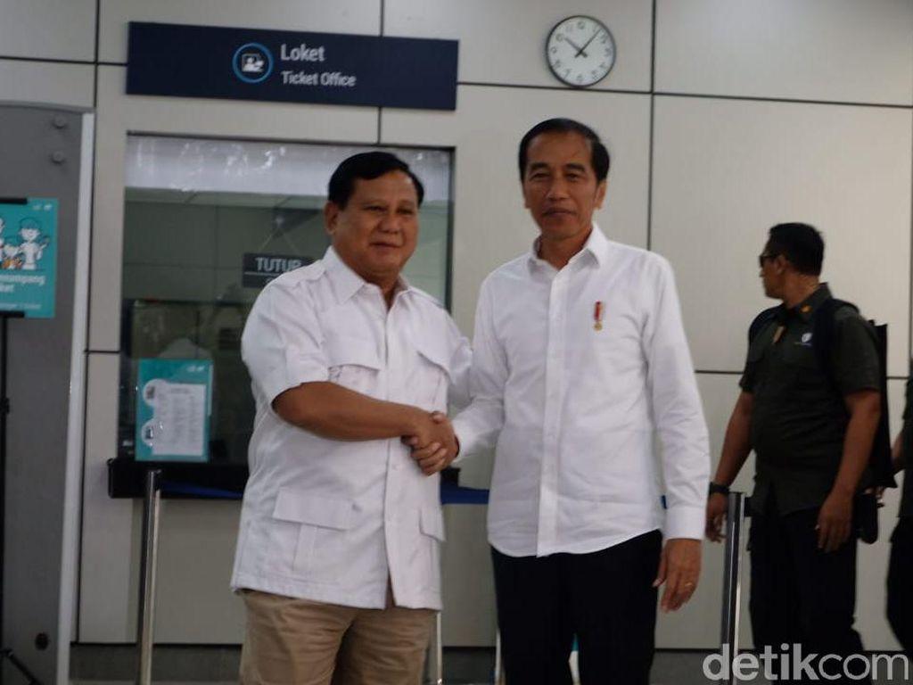 Jokowi Bertemu Prabowo, Pengusaha: Pesan Kalau RI Sudah Matang