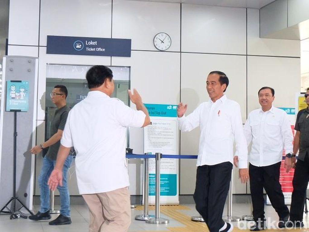 Jokowi-Prabowo Bertemu, Gerindra: Saatnya Sama-sama Mengontrol Pemerintah