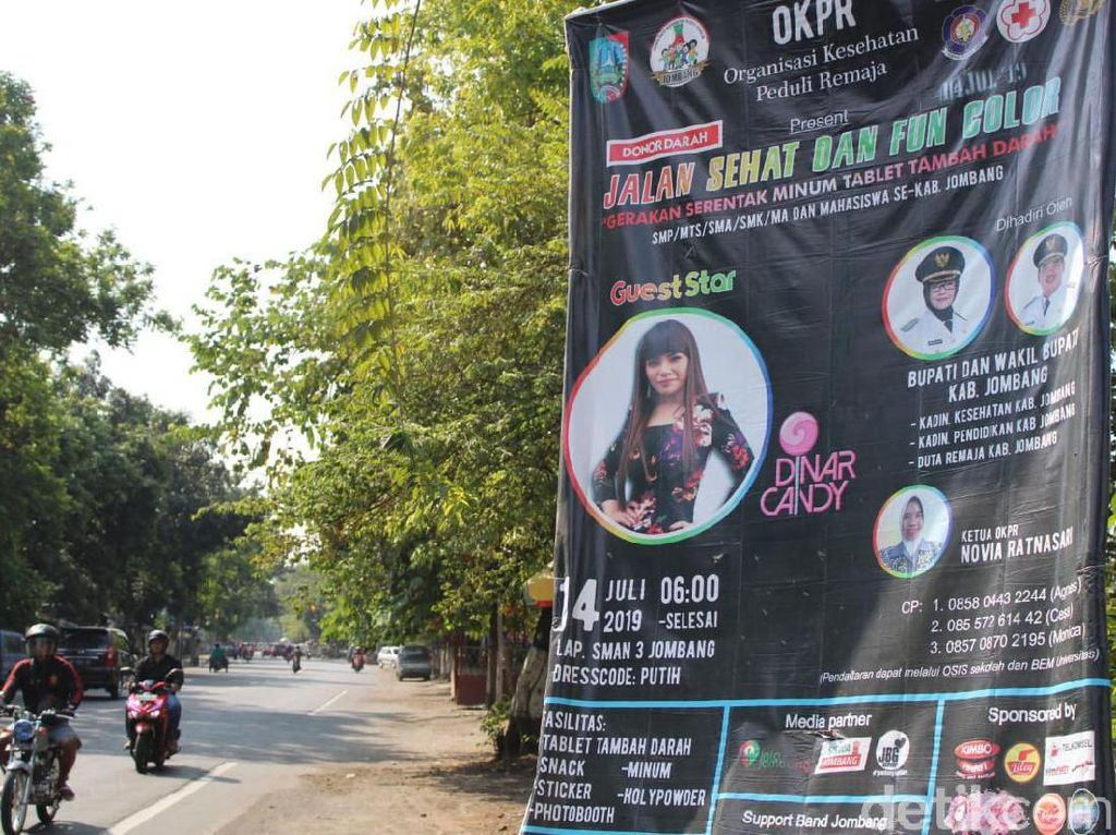 Bupati Jombang Tolak Hadir di Acara DJ Dinar Candy