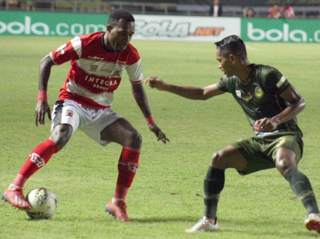 Kunci Rahasia Madura United Imbangi Tira Persikabo