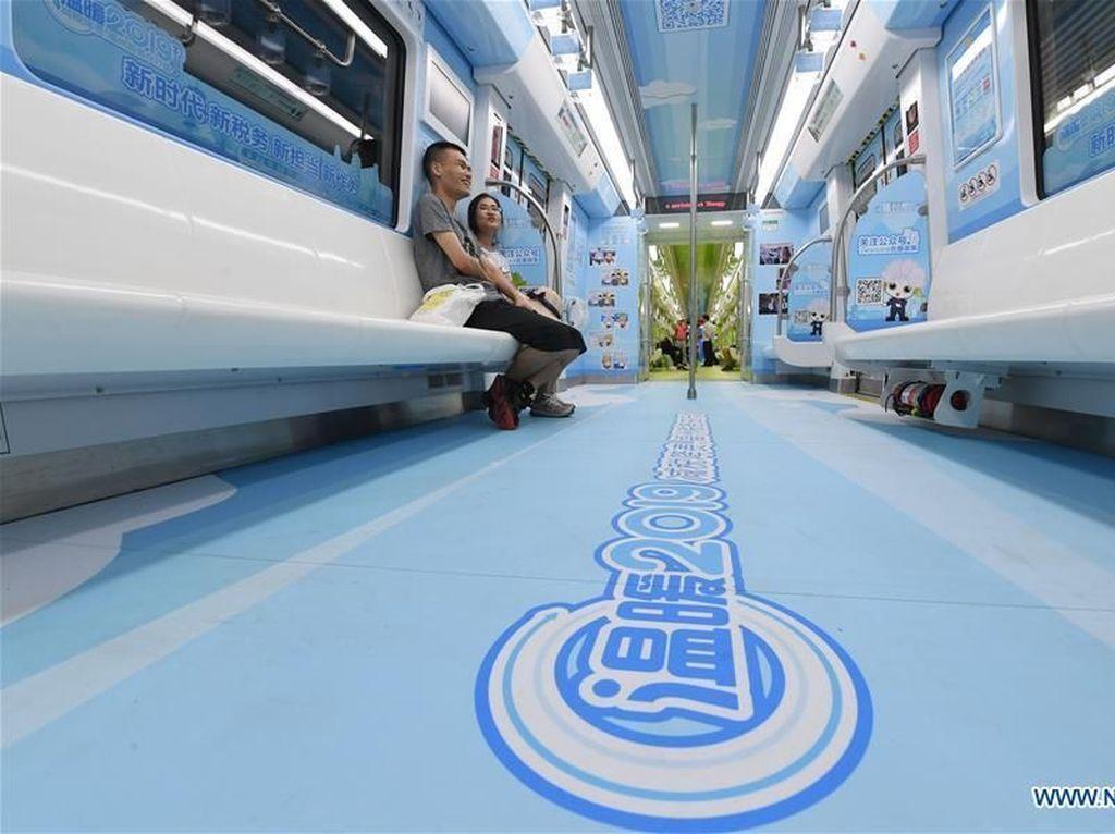 Unik! Cara MRT di China Bantu Kerek Ekonomi Daerah