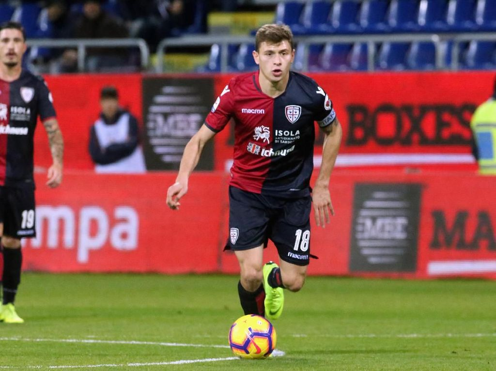 Inter Rampungkan Kepindahan Nicolo Barella