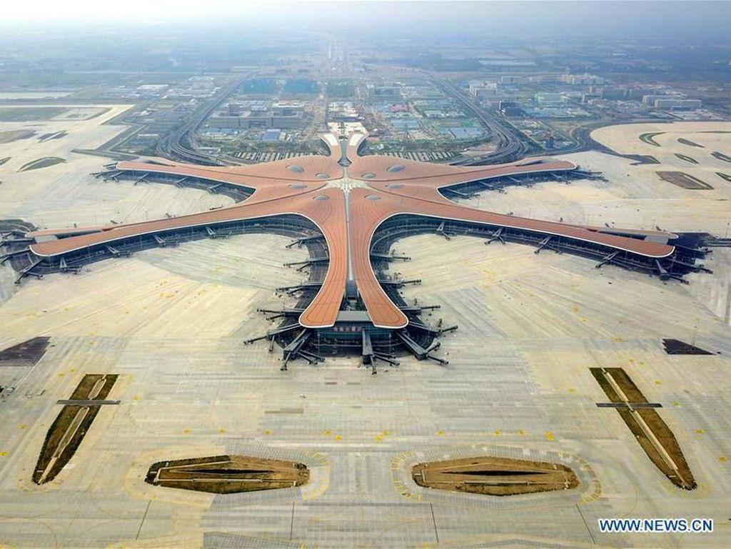 Keren! Bandara Alien di China yang Beroperasi September