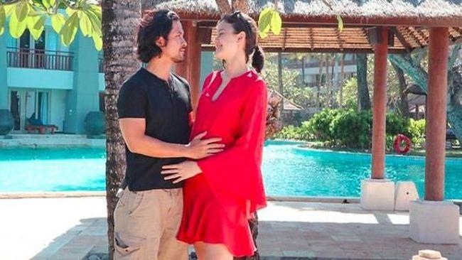 Image result for Selamat, Kimberly Ryder Hamil Anak Pertama