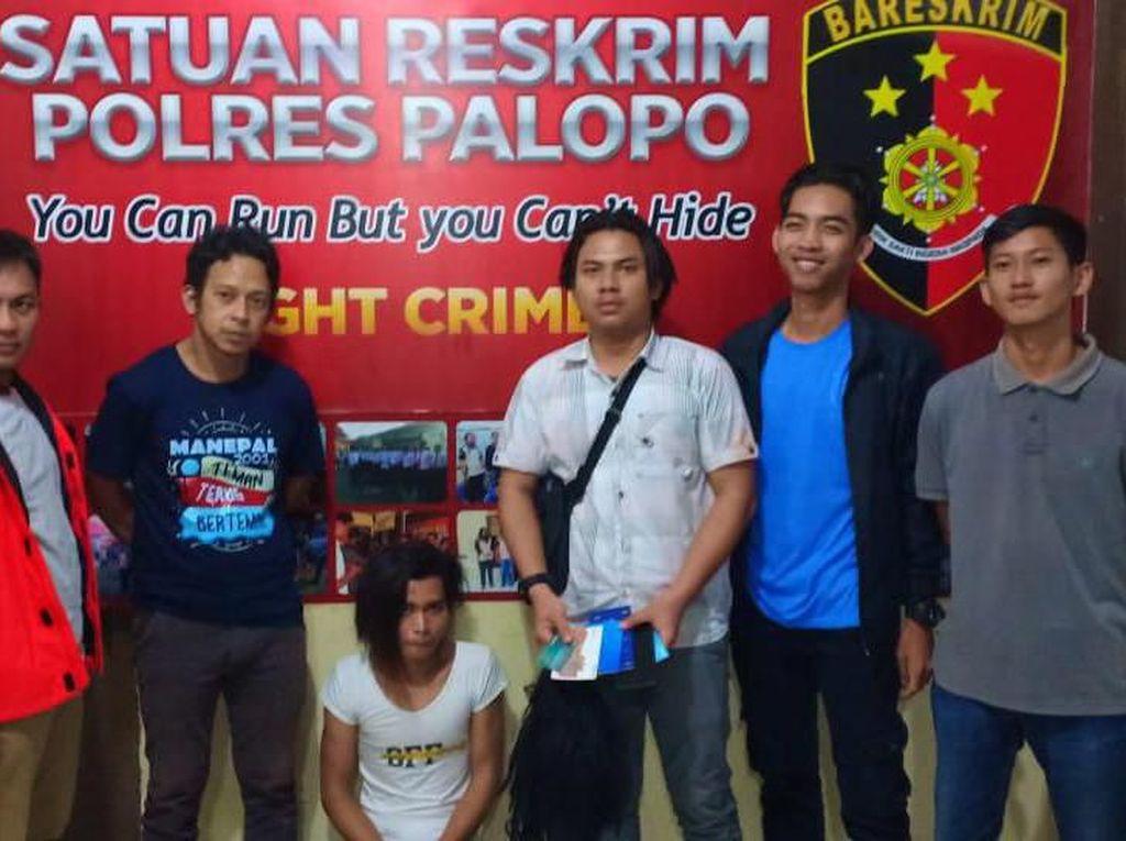 Pria di Sulsel Ditangkap Setelah Nyamar Jadi Wanita dan Peras Korban