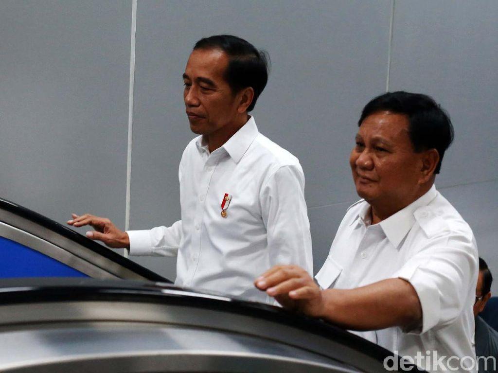 Istana Pastikan Jokowi dan Prabowo Tak Bahas Habib Rizieq
