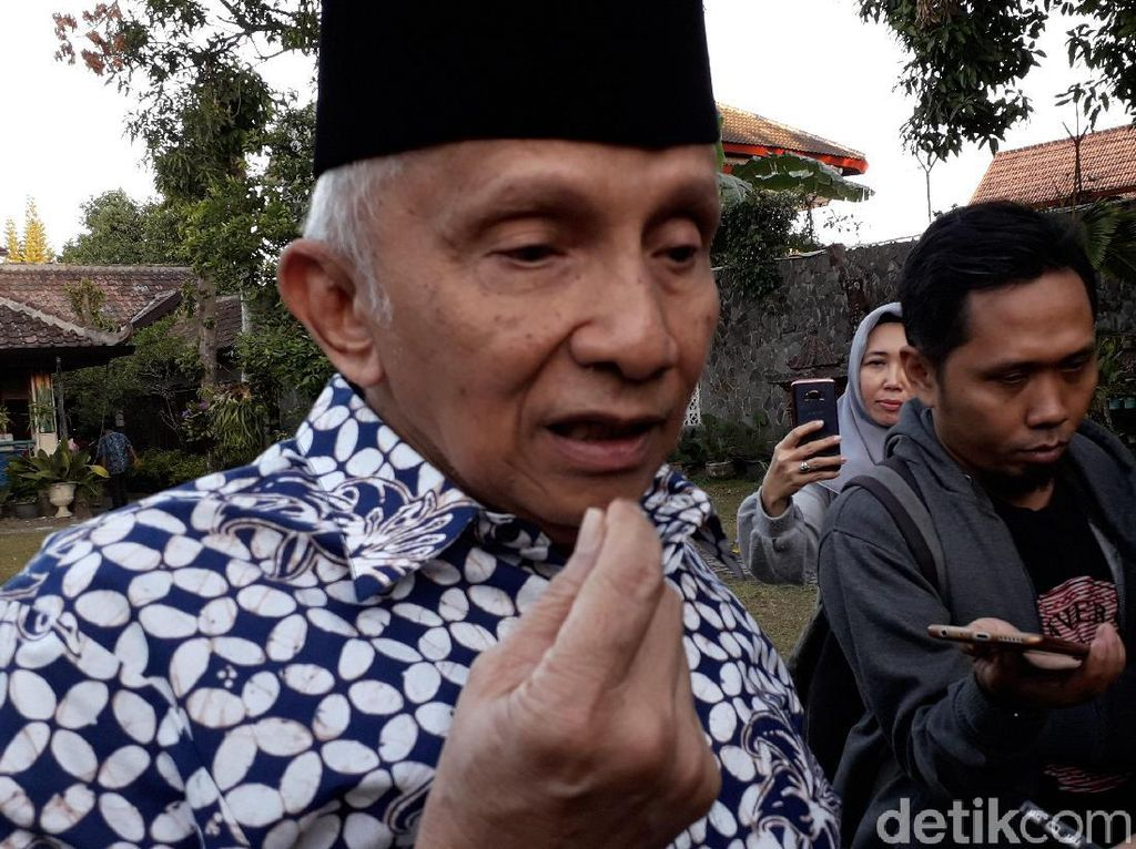 Jika Kubu 02 Gabung Jokowi, Amien Rais: Game is Over!