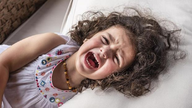 ilustrasi anak tantrum