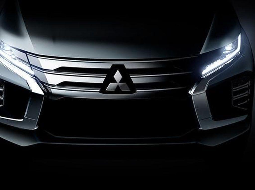 Beginikah Tampang Baru Mitsubishi Pajero Sport?