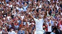 Singkirkan Nadal, Federer Tantang Djokovic di Final Wimbledon