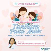 Live IG HaiBunda Anak Tantrum