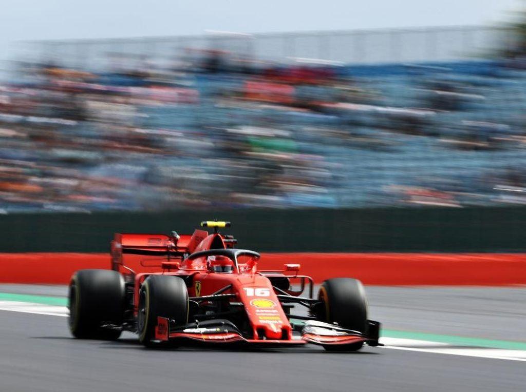 Charles Leclerc Tercepat di FP3 GP Singapura