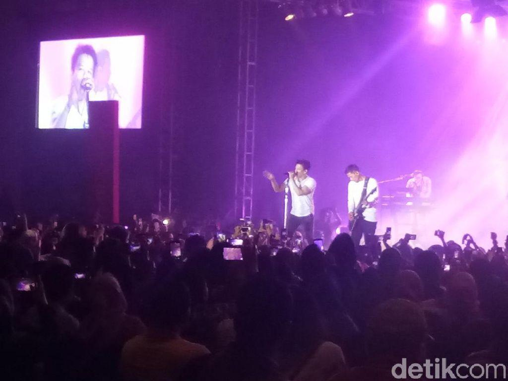 Setelah Absen 6 Bulan, NOAH Konser Perdana di Makassar