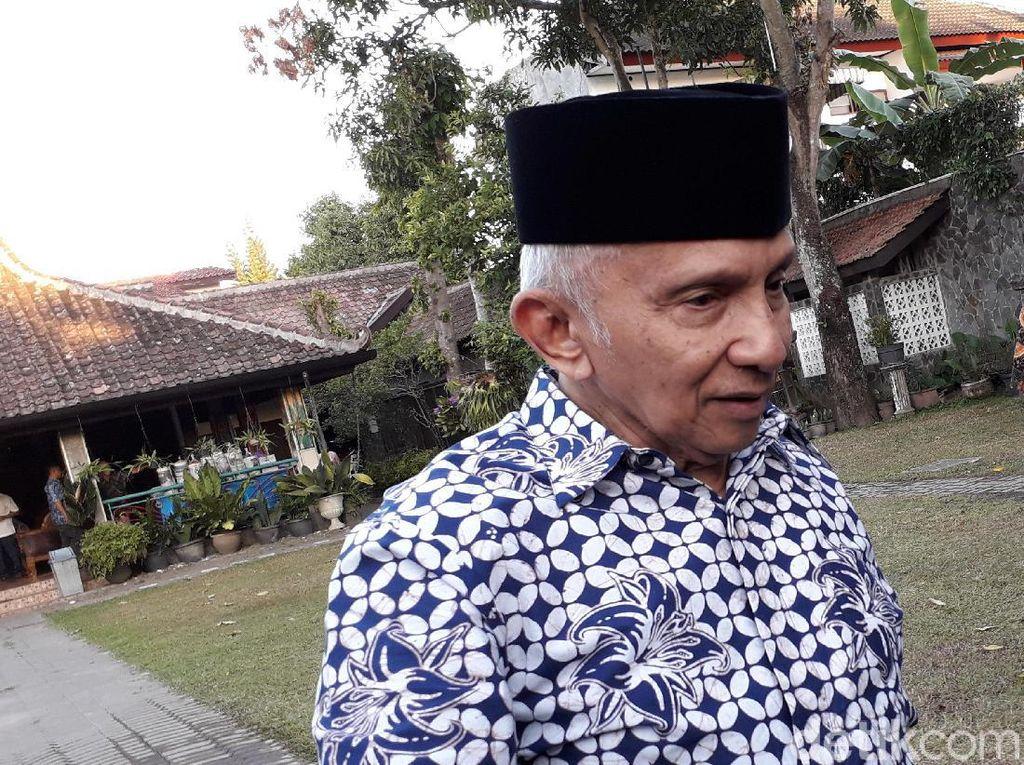 Amien Akan Minta Penjelasan Prabowo soal Pertemuan dengan Jokowi