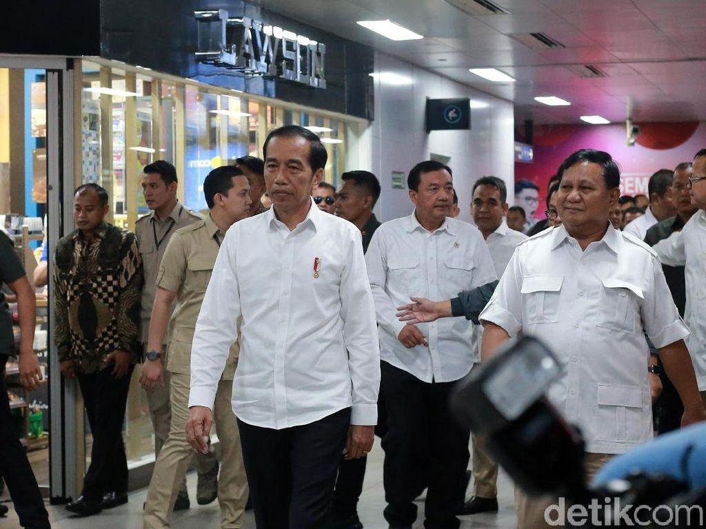 Jokowi dan Prabowo Bertemu, IHSG hingga Rupiah bakal Semringah