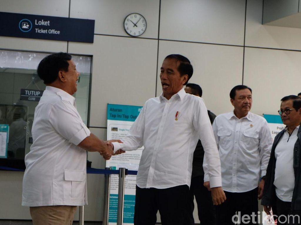 Bangga RI Punya MRT, Prabowo: Bantu Kepentingan Rakyat