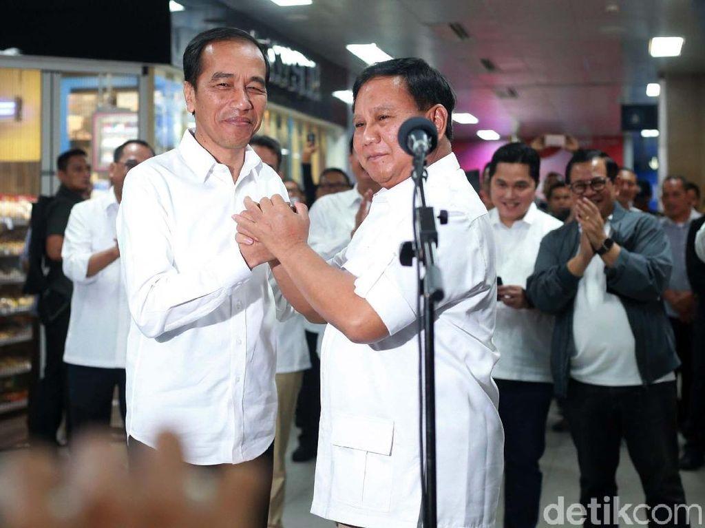 Prabowo Siap Bantu, Jokowi Bicara Pentingnya Bersatu