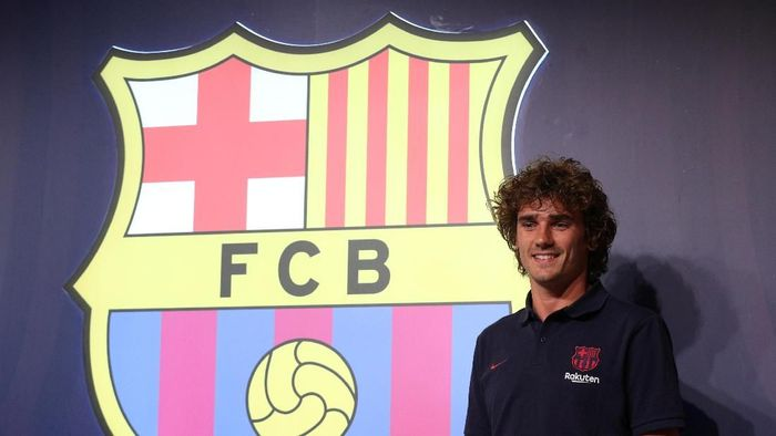 Antoine Griezmann tak menyesal sempat tolak Barcelona (Foto: Albert Gea/Reuters)