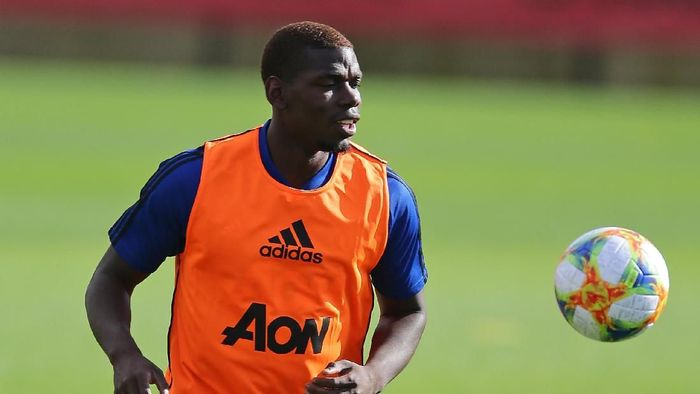 Paul Pogba bisa menjadi kapten Manchester United. (Foto: Will Russell/Getty Images)