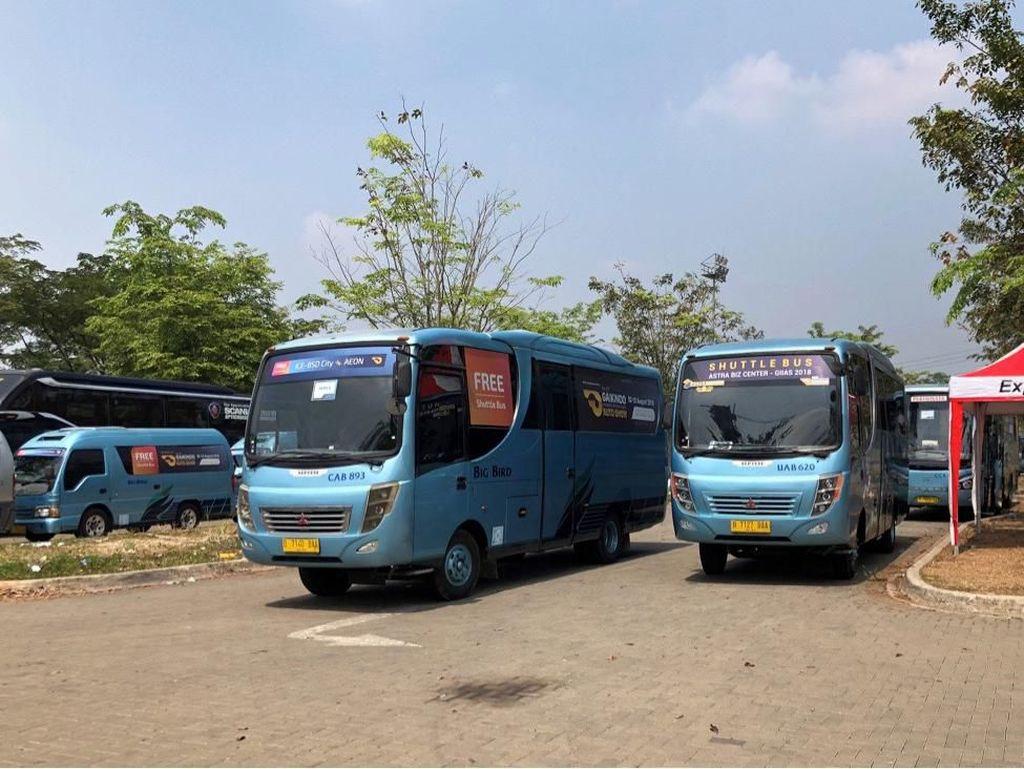 GIIAS 2019 Sediakan Shuttle Bus Gratis dari Jakarta ke ICE BSD